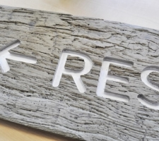 Timber Composite Materials for Signage