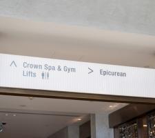 Crown Perth wayfinding signage