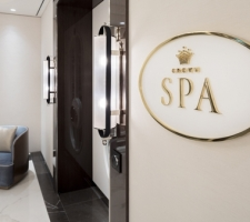 Crown Towers Spa Signage