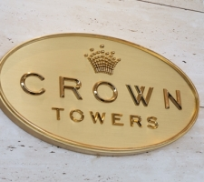 Crown Towers signage Perth