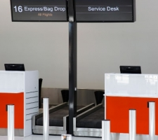 aiport-digital-counter-screens