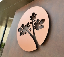 Copper-Disk-Entry-Signage-Bethanie-Gwelup