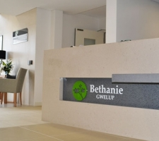 Reception-Desk-Signage-Bethanie-Gwelup