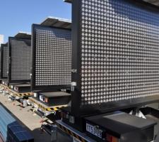 Eight Media Fleet of trailers