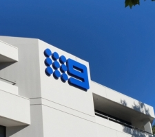 External signage Nine Network Perth CBD