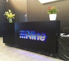 Nine Network reception signage