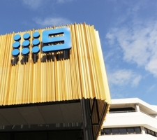 Nine Network Award winning signage installation Perth CBD