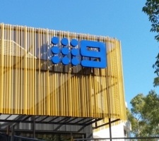 Nine Network Award winning signage installation Perth