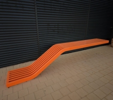 Kingman floating bench