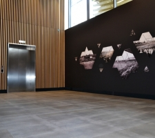 VIP Lounge lift area