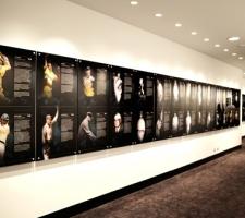 Memorabilia wall