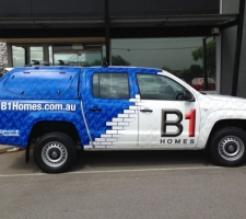 Full Vehicle Wrap - B1 Homes - Builder branding