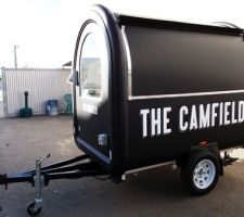 The Camfield - Coffee Cart Wrap