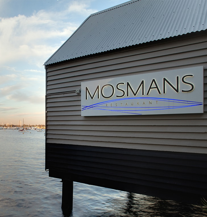 3d letters light box mosman park