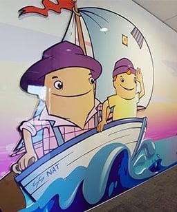 3d wall graphic art Perth