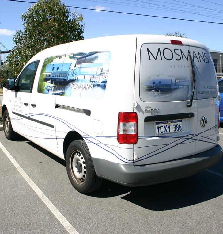 partial vehciel car wrap perth