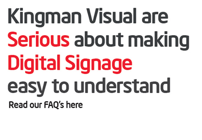 digtal signage frequently asked questions