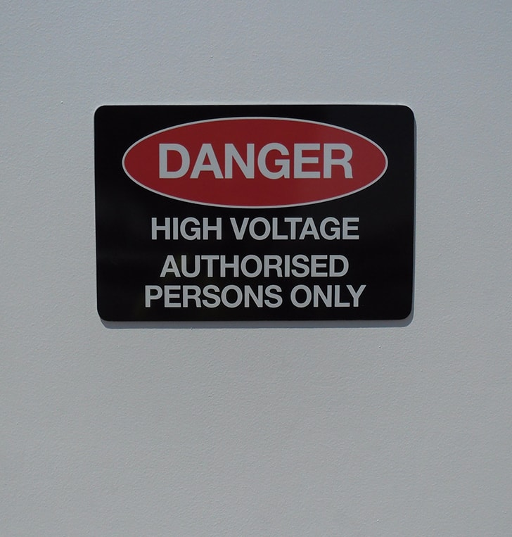 custom danger signage design perth