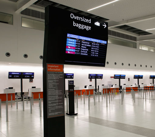 digital signage information screen perth
