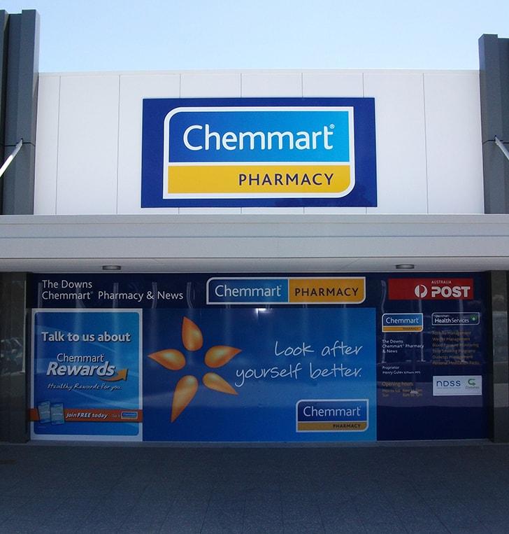 chemist signage wembley