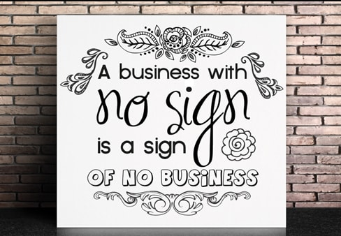business signage tips