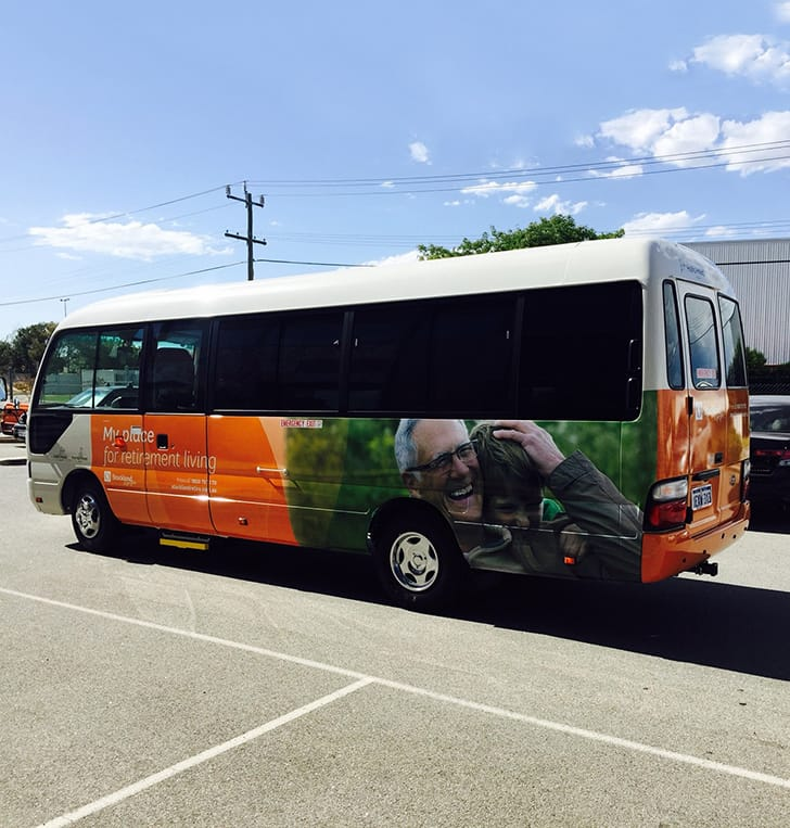 bus signage graphics wrap