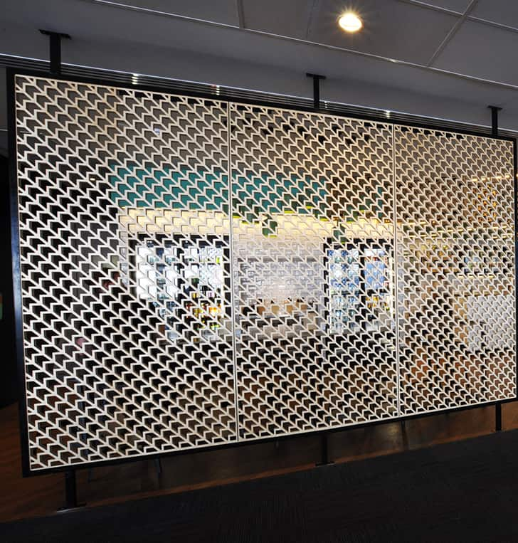 laser cut sign panel wall screens perth