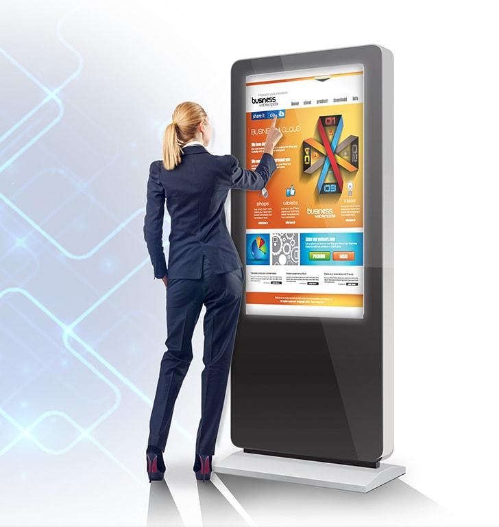 digital signage kiosk perth