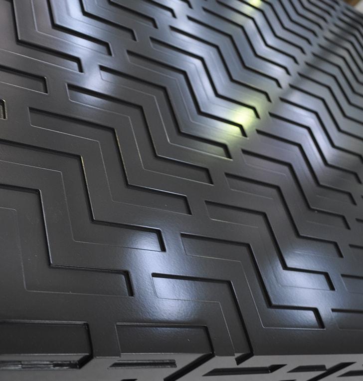 laser cut signage panel Western Australia