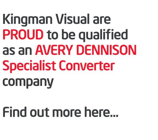 Certified Avery sign company malaga