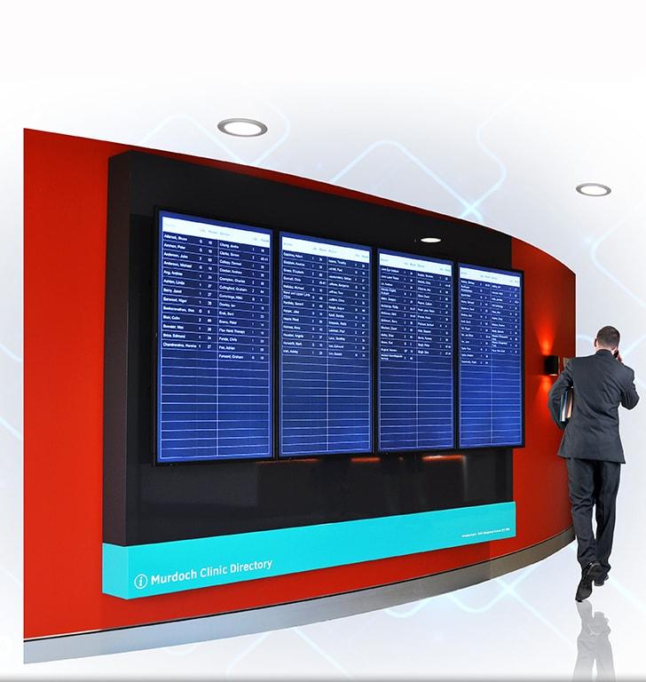 digital directory signage board