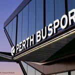 illuminated busport signage perth